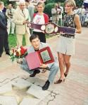 """Aleja Gwiazd Sportu - edycja 2002 - Dariusz """"TIGER"""" Michalczewski"""