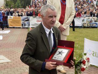 Aleja Gwiazd Sportu - edycja 2012 - Janusz Gortat