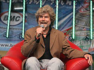 Aleja Gwiazd Sportu - edycja 2014 - Reinhold Messner